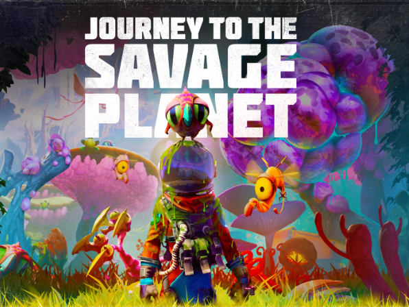 World Design of Journey to the Savage Planet